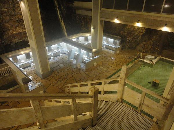 「日高見の湯」室內檜風呂