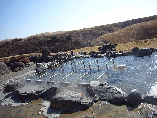 「絕景鼻の湯」男浴池