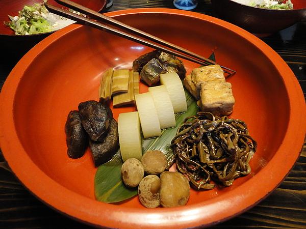 漬物,每1種都超好吃,沒有一般日本漬物死鹹的通病,吃完反而會回甘,超讚
