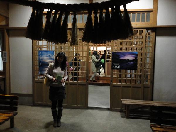 神樂殿,高千穗神社是出名的晚上比白天熱鬧的神社