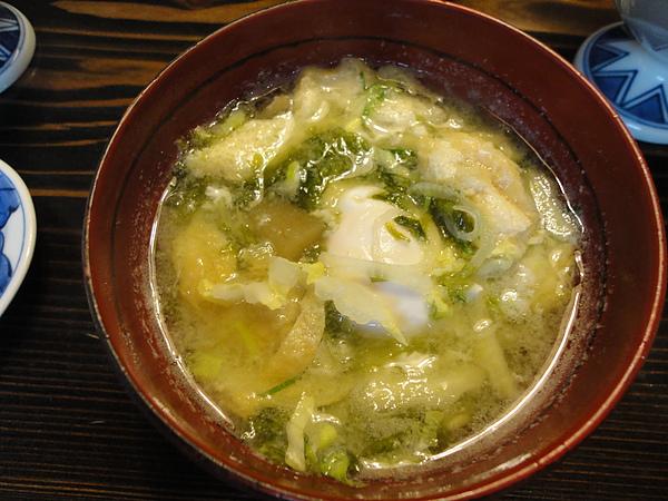 還好是味增湯,這可是我到日本這麼多次,吃過料最多的味增湯,超級好喝阿