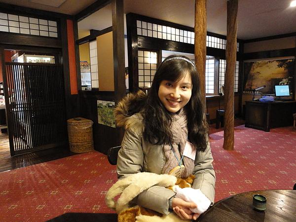 感受過黑川街道的氣氛後,我們回住宿的「山みず木」旅館check-in