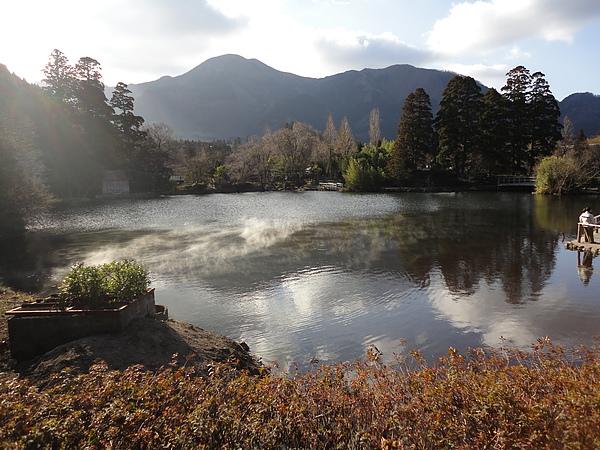佈滿晨霧的湖面有股說不出的浪漫氛圍