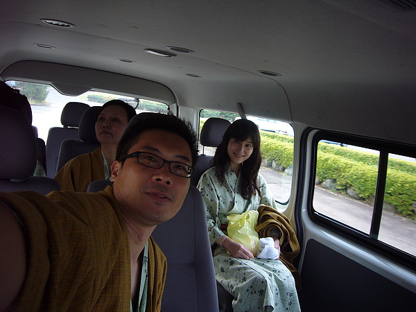 拍完照後同樣搭乘「愛真館」接駁專車返回飯店