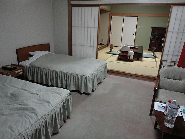 我們的房型是和洋式,總共可以容納6個人