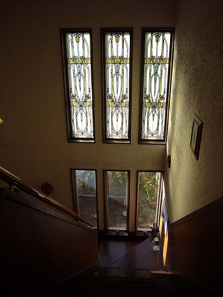 歐式風格的民宿階梯