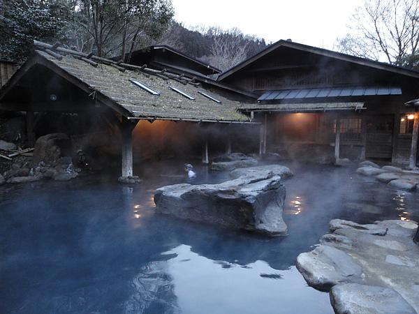 仙人風呂是黑川規模最大的浴池