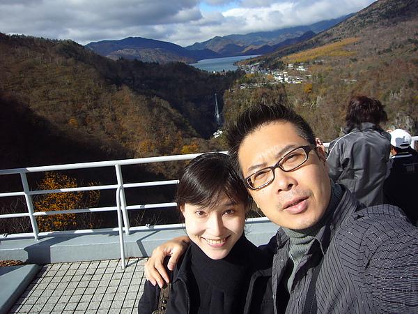 震懾於眼前的美景,我們身旁的日本遊客一直發出「すごい」的驚呼聲