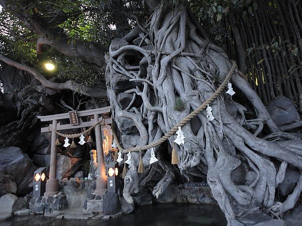 龍神觀音及樹齡200多年的老樹