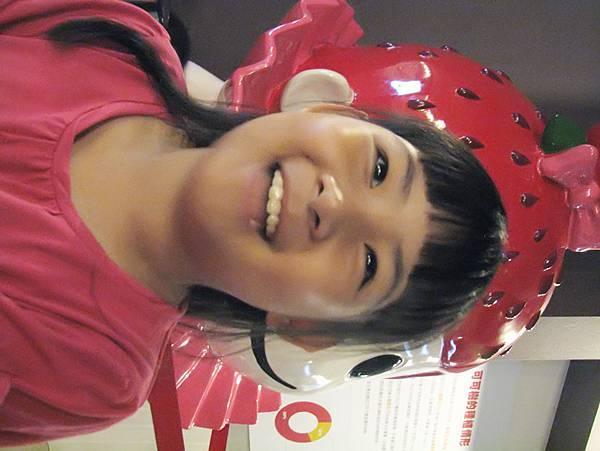 台北姪女特地來看巧克力展
