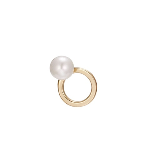 Mystere Rond Pearl Gold 耳環 (代購價: $1980)