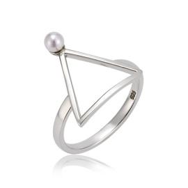 Mystere 三角珍珠戒指 (代購價: $3280)
