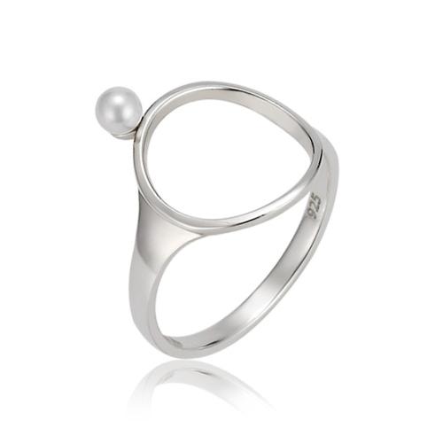 Mystere 圓形珍珠戒指 (代購價: $3280)