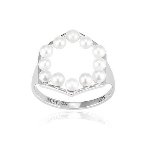 Mystere Pentagone Pearl 五角珍珠圈戒指 (代購價: 5680)