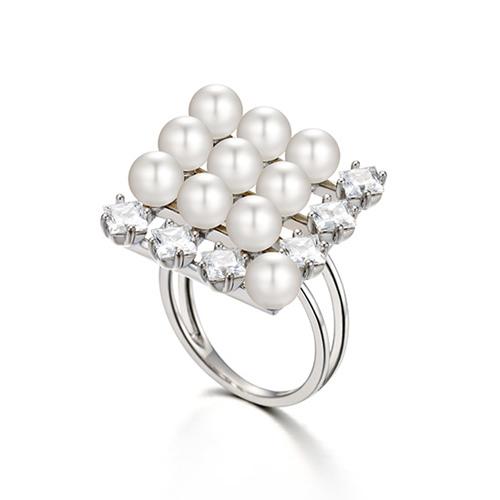 珍珠塔造型戒指 12號 (代購價: $6580)