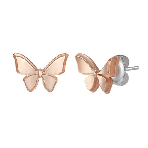 玫瑰金蝴蝶耳環 代購價: $3080