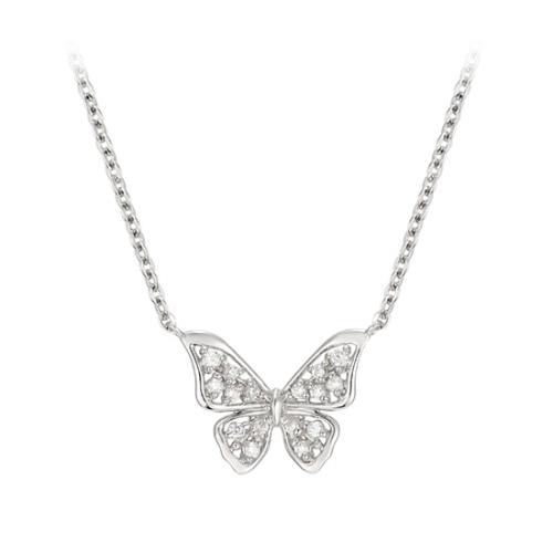 水鑽蝴蝶結項鍊 代購價: $9680