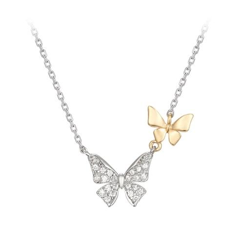 雙蝴蝶項鍊 代購價: $9380