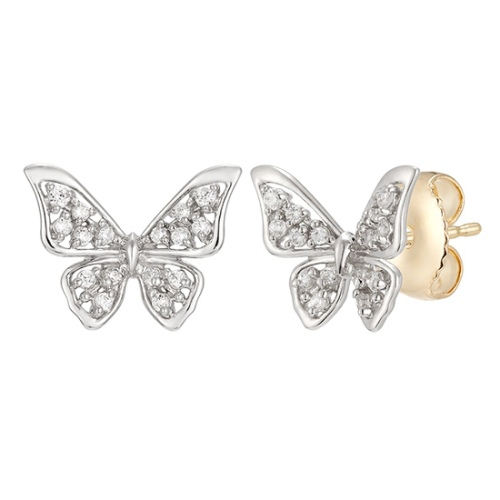 水鑽蝴蝶結耳環 代購價: $8180