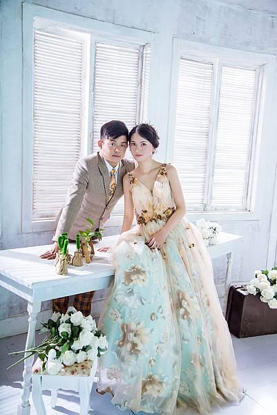 韓式婚紗照與新竹韓風婚紗攝影