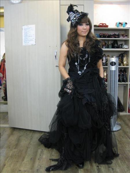 我的第三套禮服~新歌德式