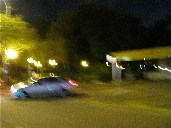夜晚的大安森林公園