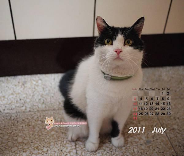 酷酷2011年7月電腦桌布(適合1280x1024)