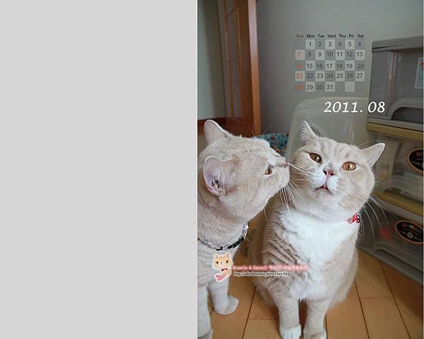 卡哥歐弟2011年8月桌布(適合1280x1024)
