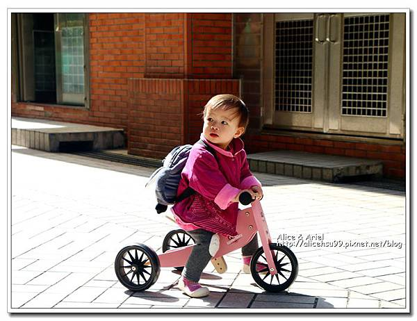 Kinderfeets滑步車,萱萱