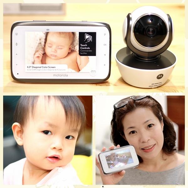 Motorola WiFi嬰兒數位影像家用高解析監視器