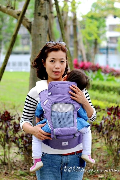 韓國Pognae No.5 超輕量機能坐墊型背巾