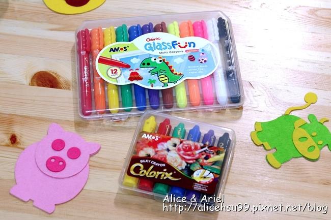 韓國AMOS水蠟筆& AMOS玻璃蠟筆