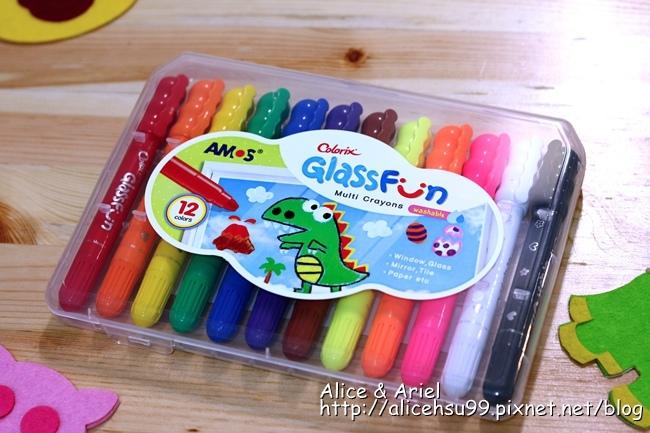 韓國 AMOS玻璃蠟筆