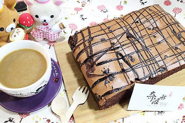 黑巧克力蛋糕01
