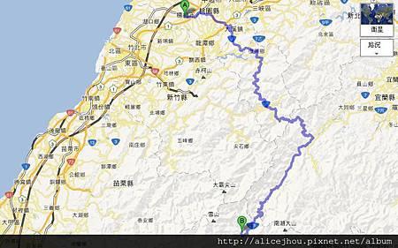 武陵農場地圖