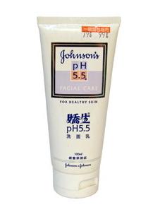 嬌生PH5.5洗面乳