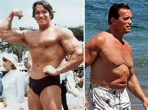 阿諾完全就是吃太好過太爽又不運動中年發福的富老頭
