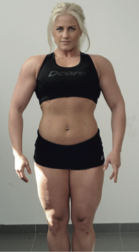 肌肉極高脂肪中等