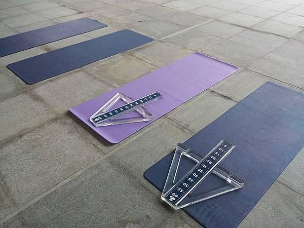 柔軟度與肌耐力測試區