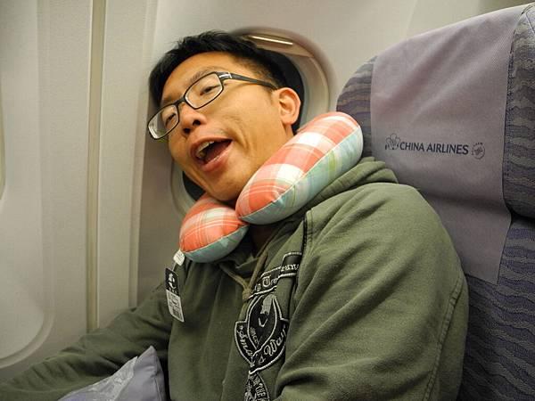 出國前特地去買的頸枕