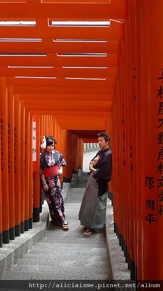 東京日枝神社我很喜歡的一段石階