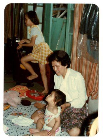 一生中唯一享受過母愛的時光