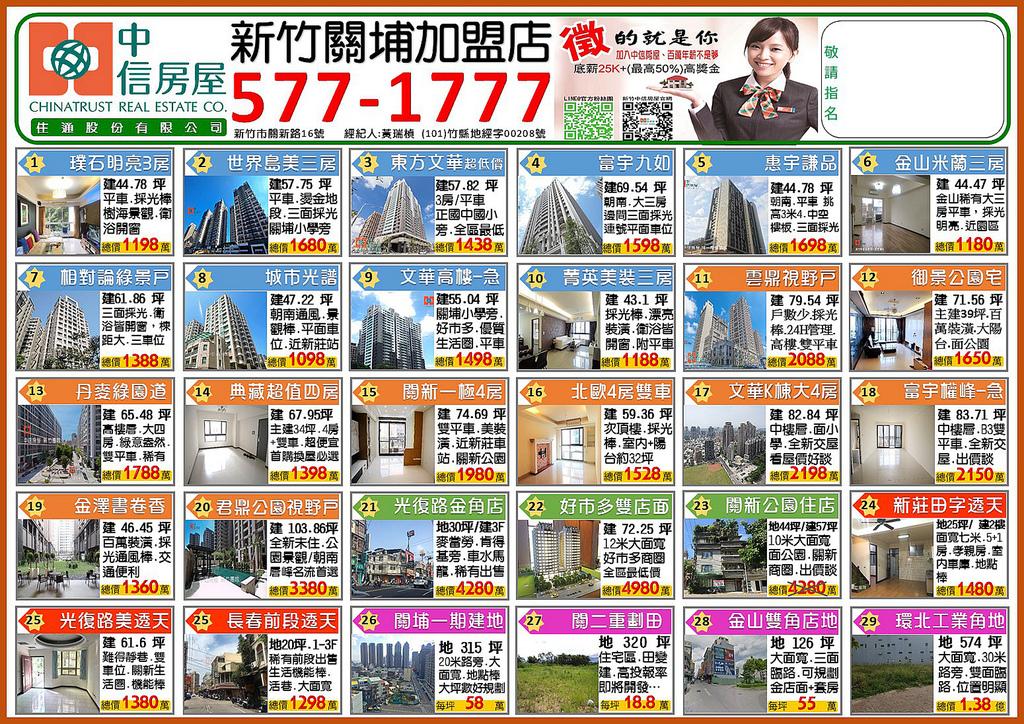 中信房屋新竹關埔加盟店11月促銷好案.JPG