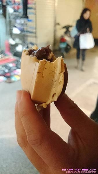 『台北中山區』捷運中山站 晴光市場美食 牛棚牛肉麵、晴光紅豆餅