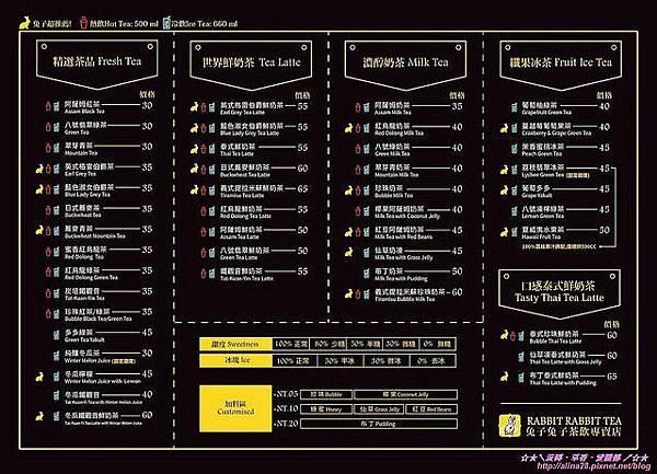 『台北大安區』捷運忠孝復興站 忠孝SOGO百貨後方 兔子兔子茶飲專賣店 (2).jpg
