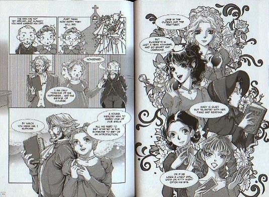 pride and prejudice manga 001