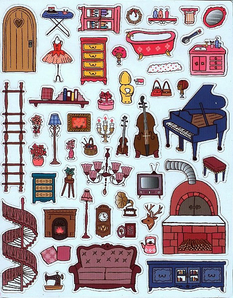 可愛時尚的磁鐵娃娃屋--夢幻娃娃屋 (風車)002.jpg