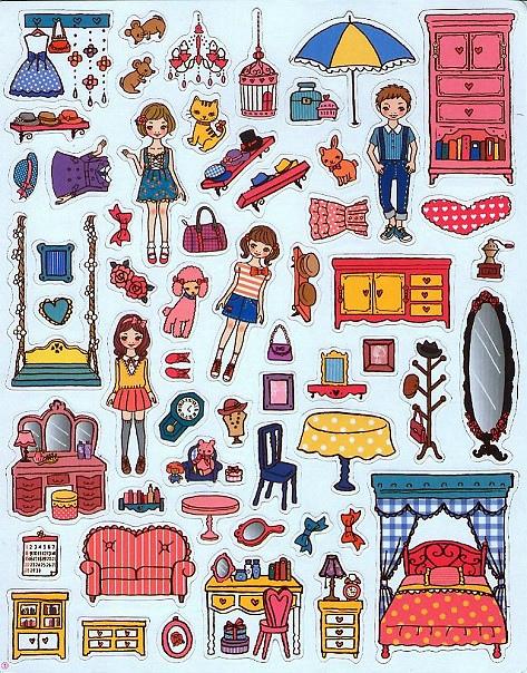 可愛時尚的磁鐵娃娃屋--夢幻娃娃屋 (風車)003.jpg