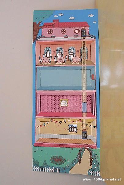 可愛時尚的磁鐵娃娃屋--夢幻娃娃屋06.JPG
