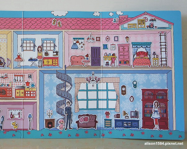 可愛時尚的磁鐵娃娃屋--夢幻娃娃屋 (風車)13.jpg
